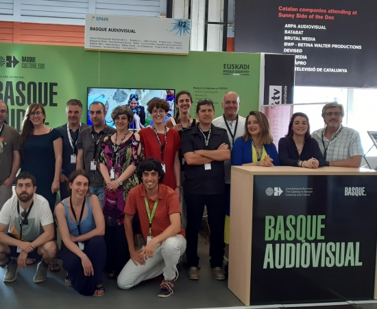 Basque Audiovisual returns to Sunny Side of the Doc