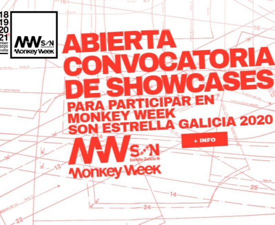 Convocatoria para actuar en la feria Monkey Week