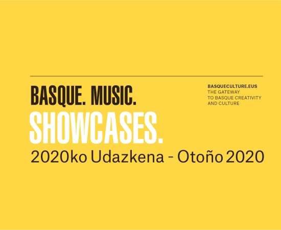 Basque. Music. to take part in leading professional fairs