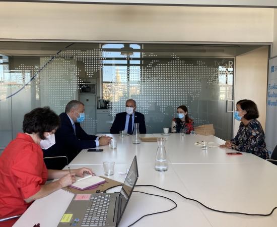 Reunión de trabajo con representantes de Georgia