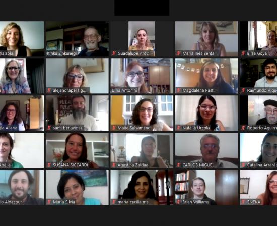 28 alumnos/as que se forman como futuros docentes de euskera finalizan el barnetegi online